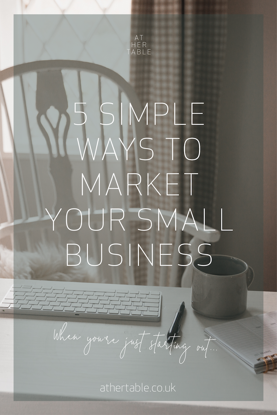 5 simple ways to market your small business when just starting out  #smallbusinessmarketing #marketingtips #startingasmallbusiness