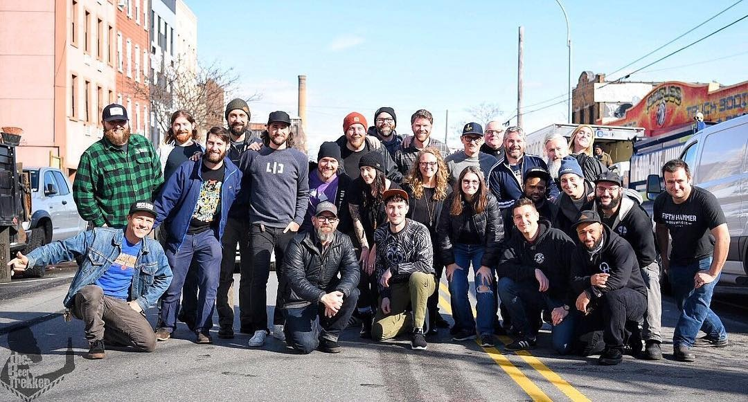 2019 NYC Beer Week Collaboration Brew Day