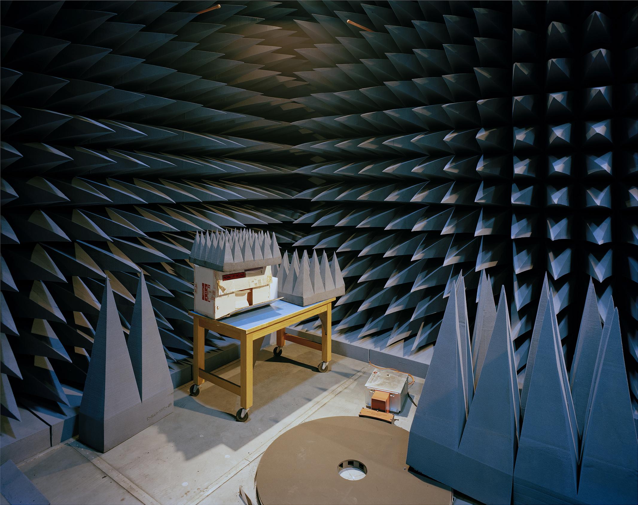 "Corner - Antennae Research Laboratory  2015 4x5"" negative, Canson Infinity Platine Fibre Rag 38"" x 48"""