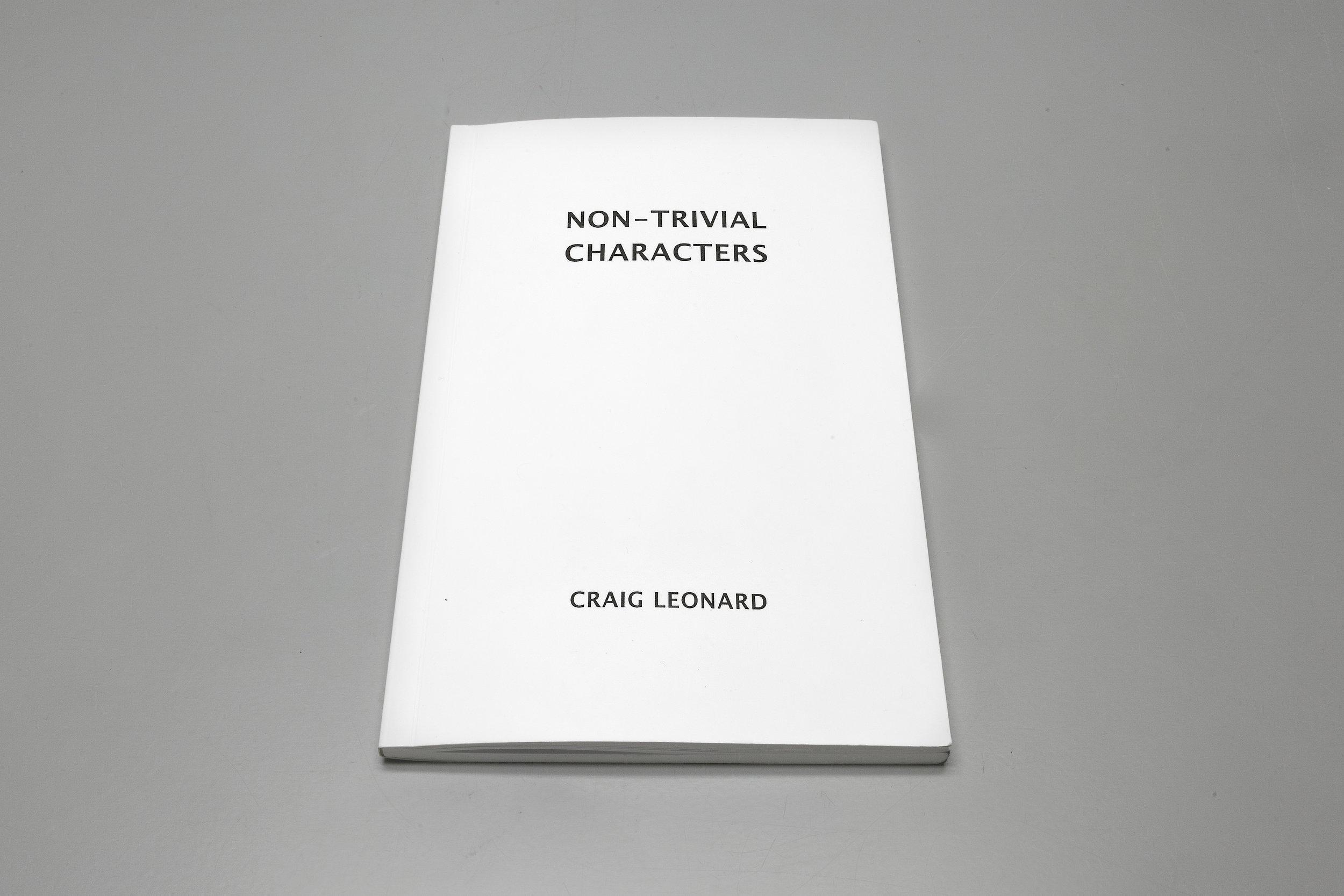 ED002: Craig Leonard - Non-Trivial Characters (Cover)