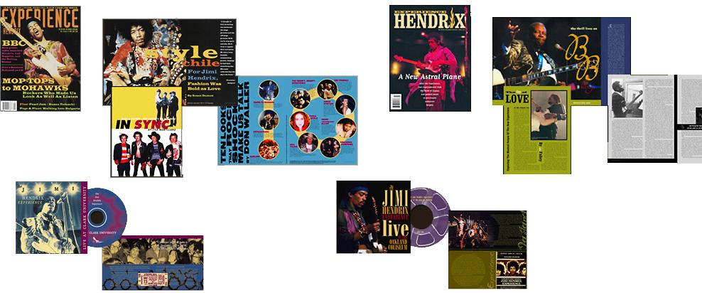 Jimi Hendrix mags