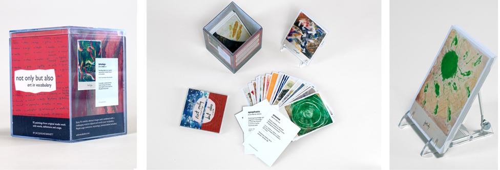 Vocab card set for same artist