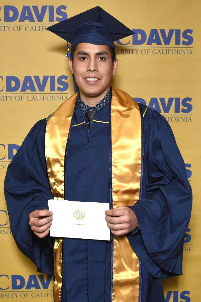 Rick graduated from UC Davis in December 2018.