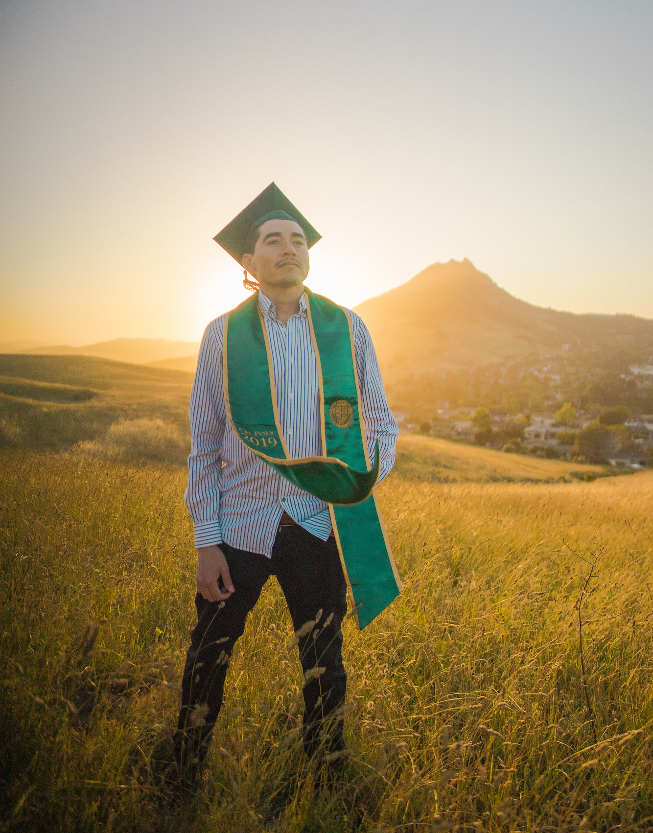Amado graduated from Cal Poly San Luis Obispo in June 2019