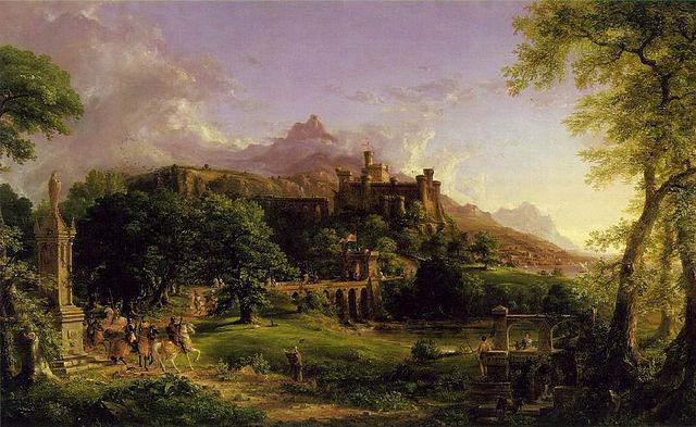 The Departure, Thomas Cole
