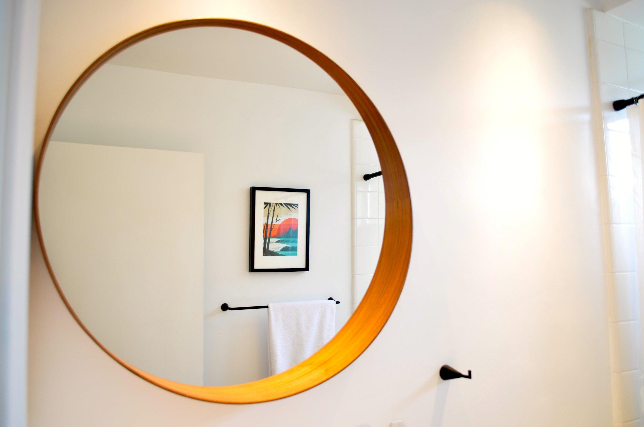 Ikea mirror!