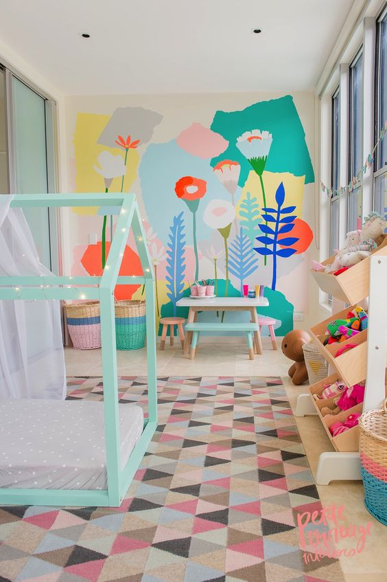 This room was designed by Petite Interiors Co. located in Australia (why are their so many good designers down unda?!