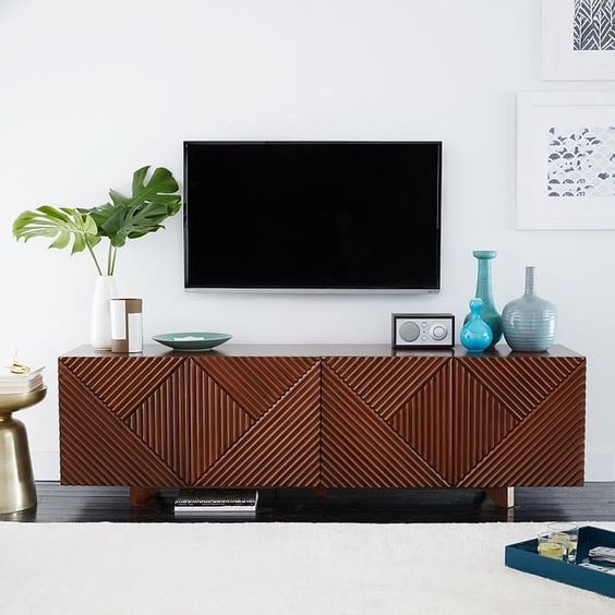 How to style a media console jpg