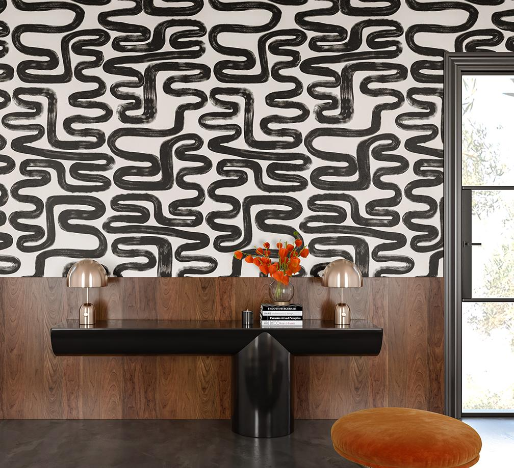 aztec wallpaper. The coolest wallpaper company right now! https://popixdesigns.com/popixblog/2018/8/20/my-new-favorite-wallpaper-company