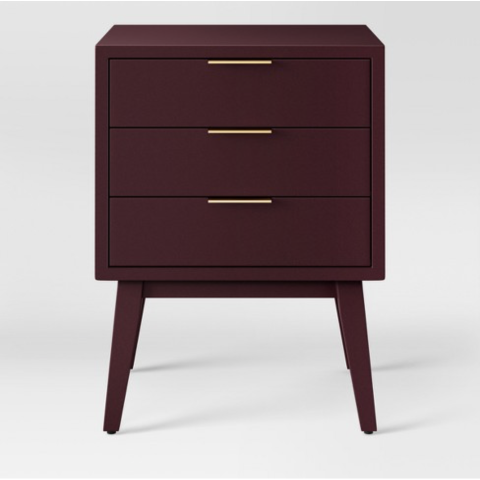 Hafley Three Drawer end table