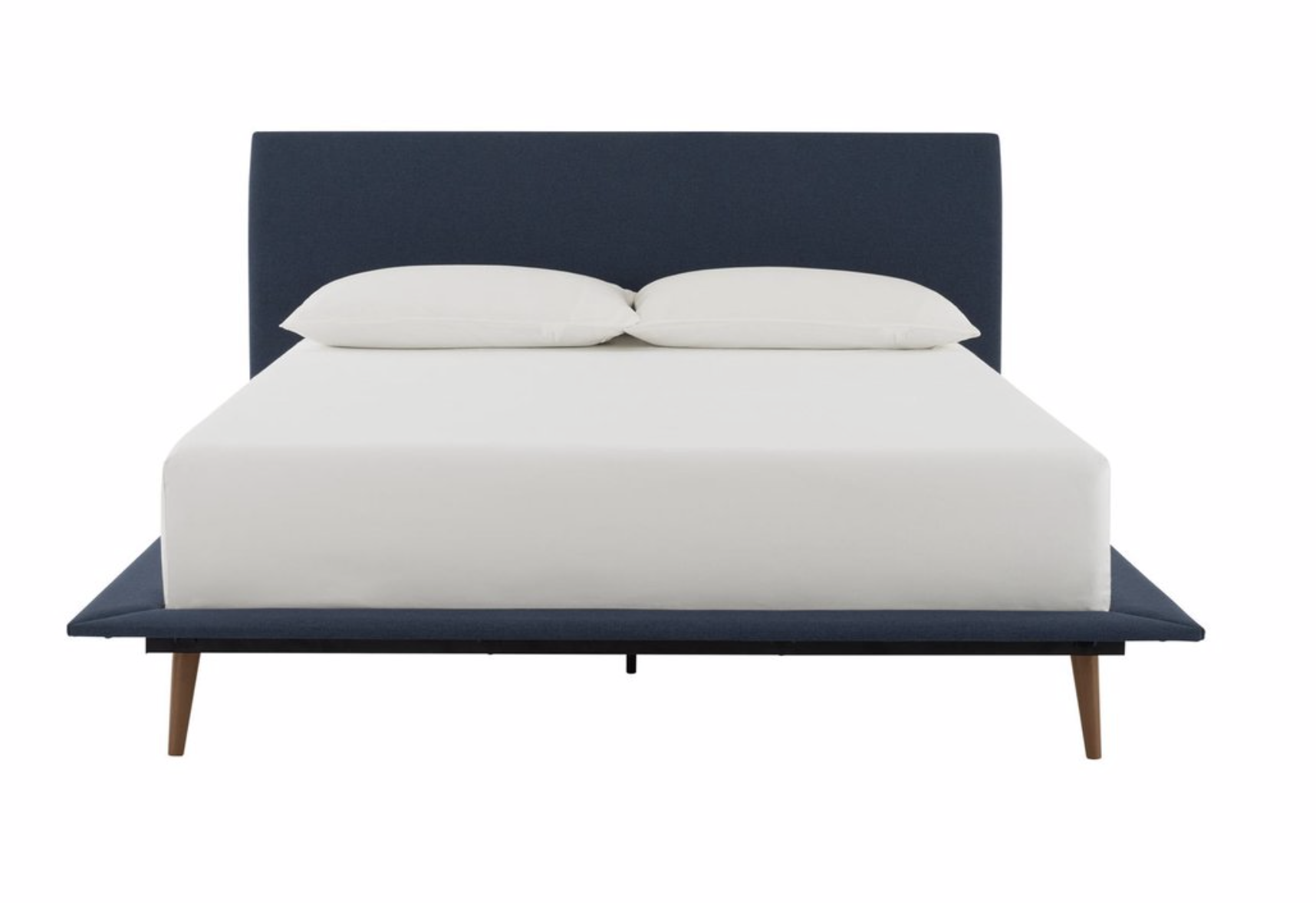 This bed is a steal at only $342 for a Queen! It's modern, sleek, and cool, and would update a room instantly.