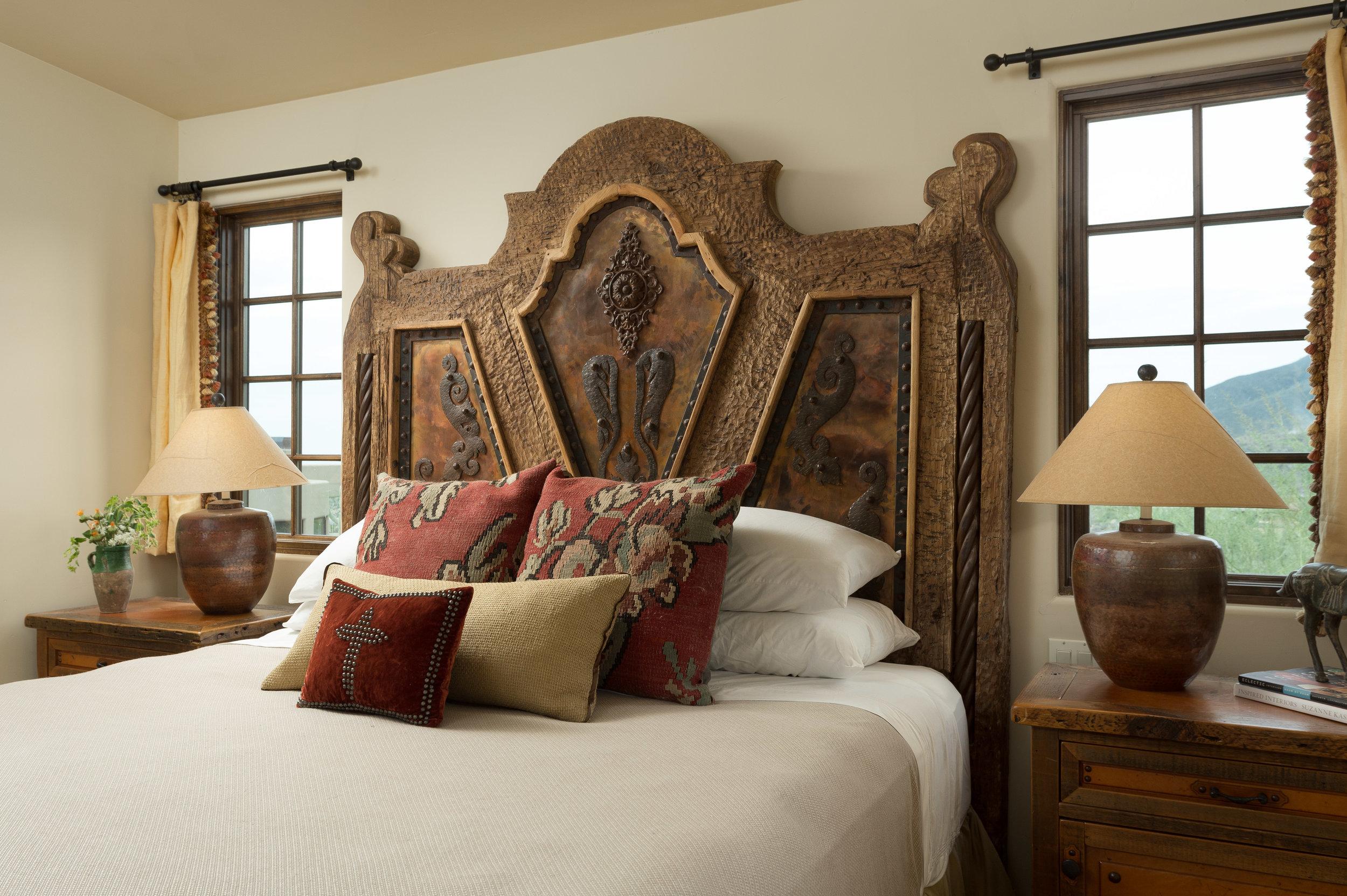 Vintage Boho Bed