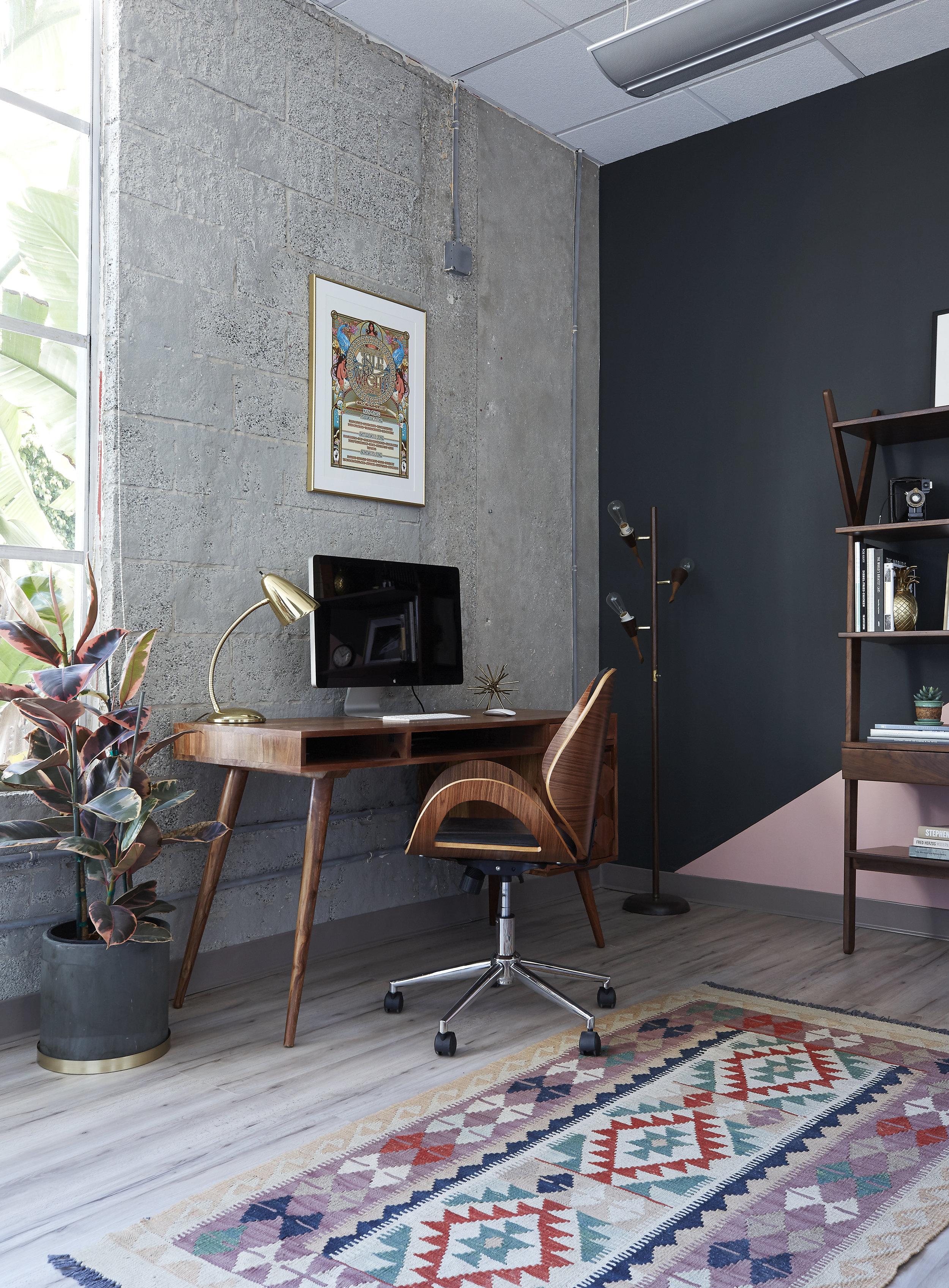 Mid Century Modern Office Space