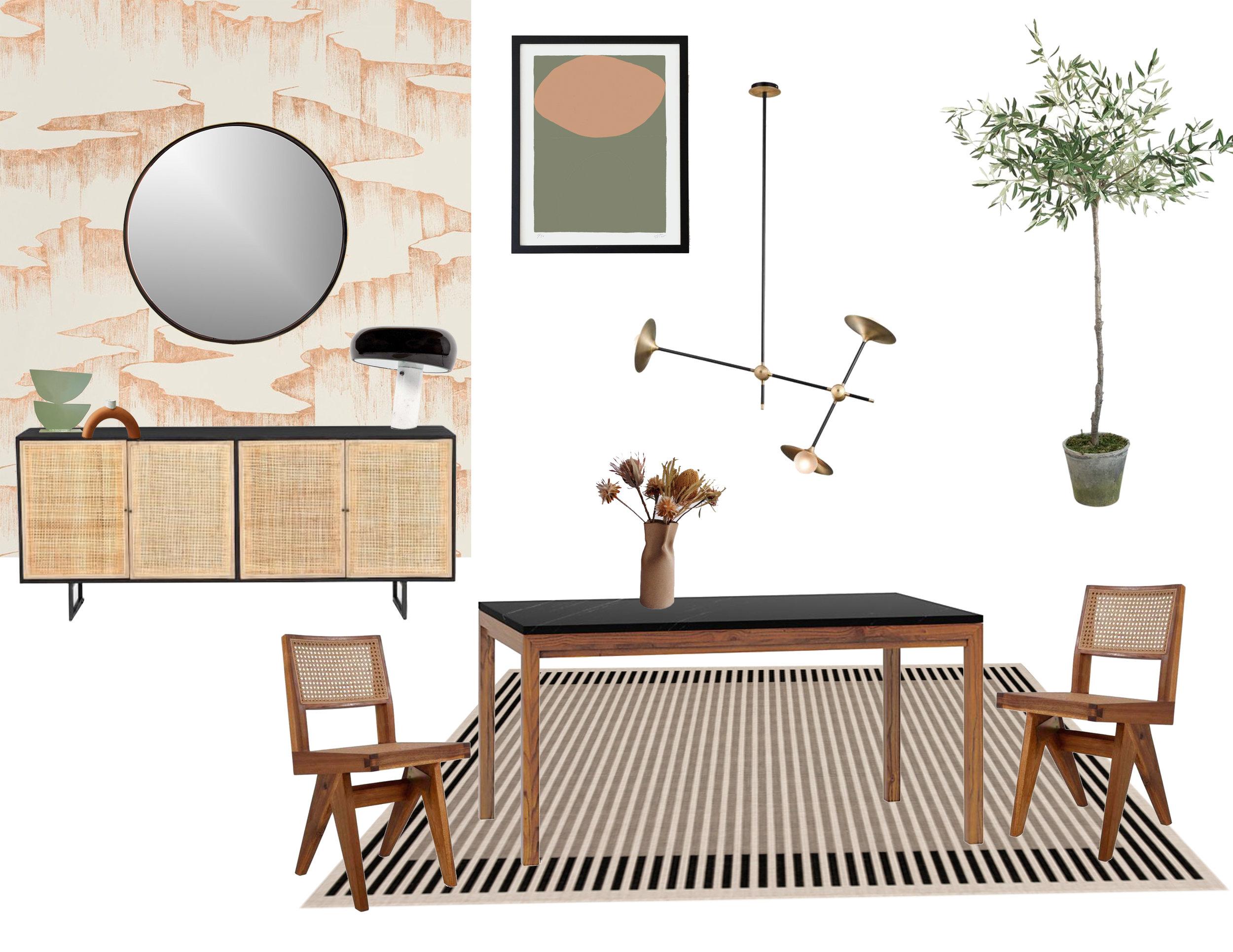 Modern Dinning Room by Popix Designs