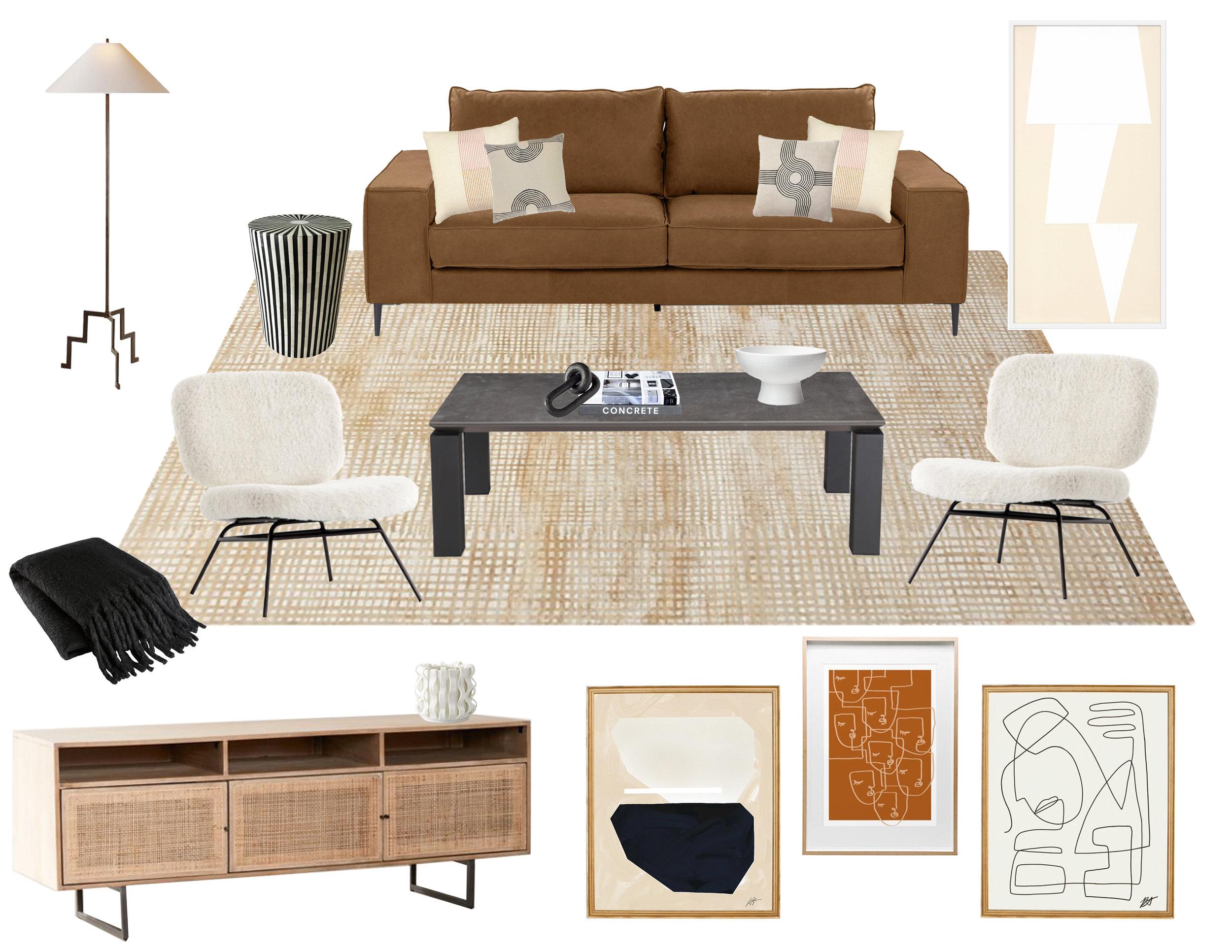Modern Living Room by Popix Designs