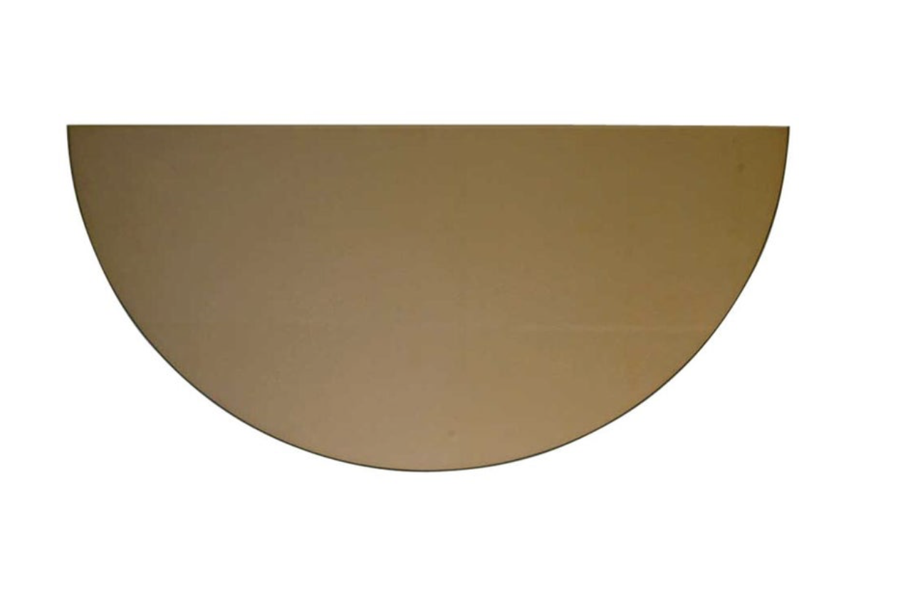 I love sourcing Mirrors from 1stdibs. This Bronze half moon mirror is so fun and only $165
