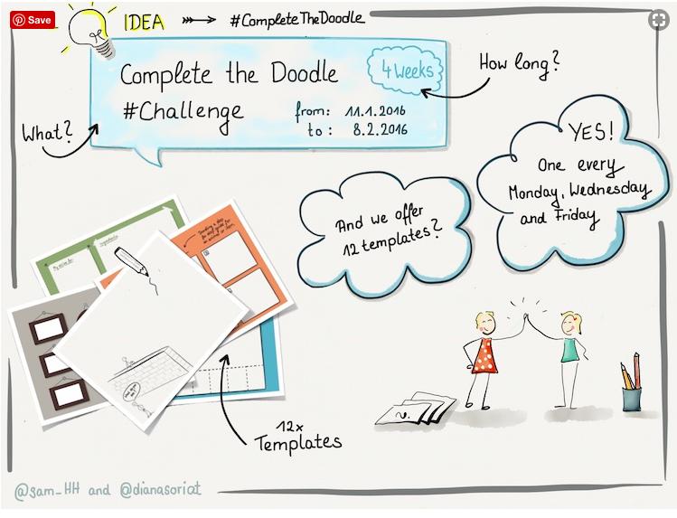 30-Day Doodle Challenge -