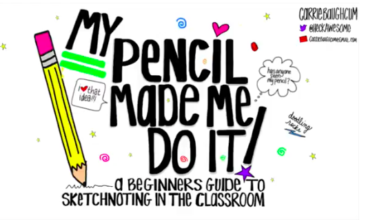 Carrie Baughcum — Sketchnoting: I Just Don't Know How to Start -