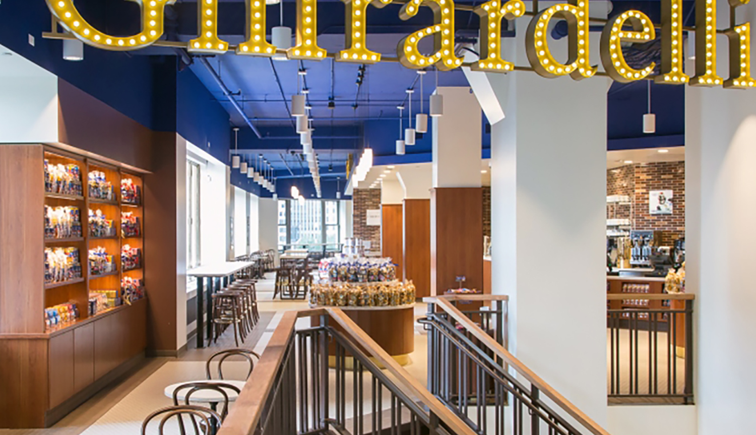 Ghirardelli Chocolate    ±7,200 sf   401 N Michigan Avenue | Chicago