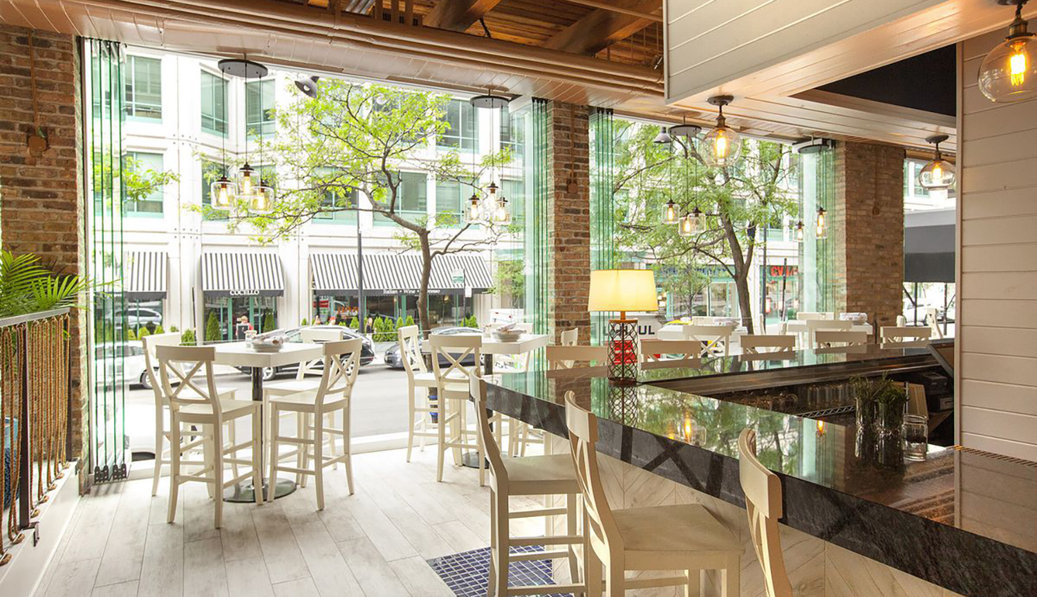 Hampton Social - Streeterville    ±7,500 sf   164 E Grand Avenue | Chicago