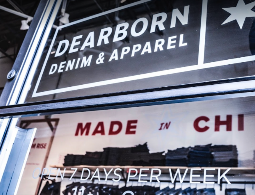 Dearborn Denim    ±1,800 sf   5202 N Clark Street | Chicago