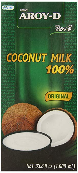 AROY-D 100% Coconut Milk - 33.8 oz packages.jpg