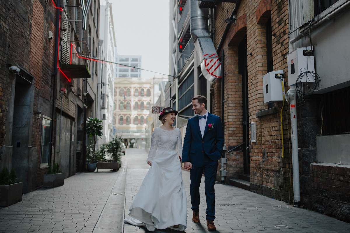 Early morning Auckland city-Emily Chalk wedding photographer.jpg