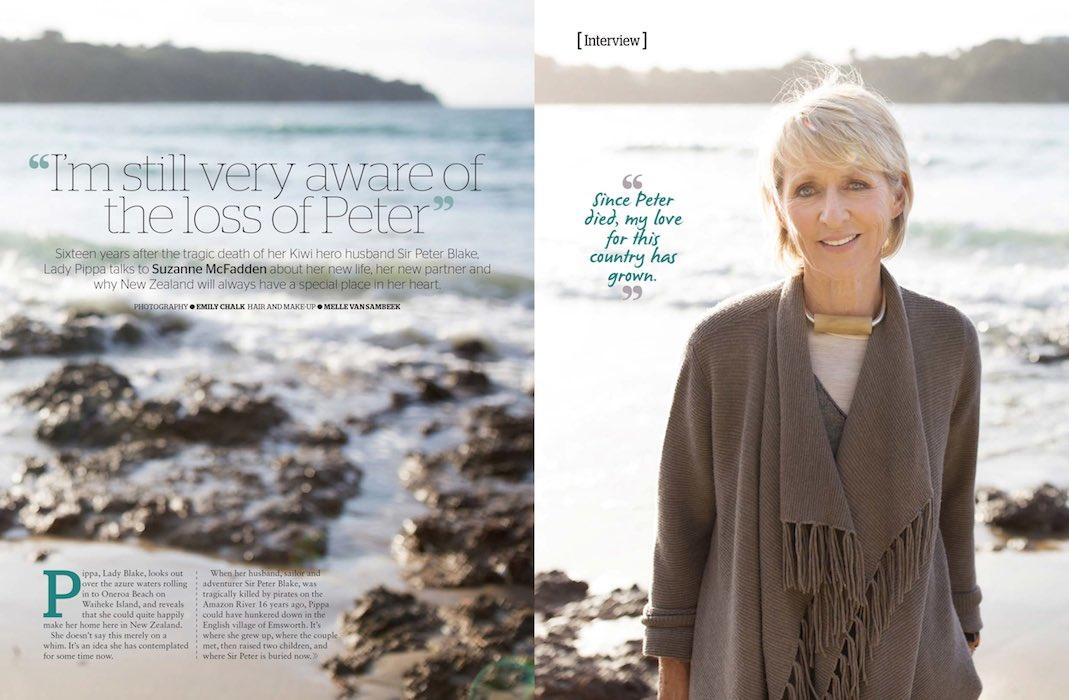 Personal Photo in Magazine - Emily Chalk