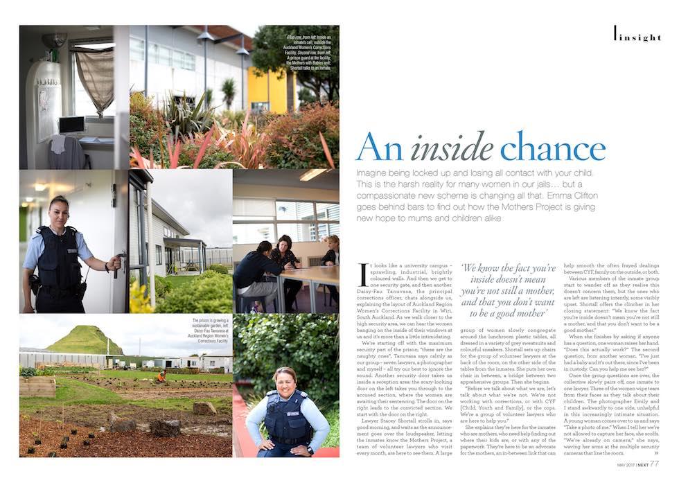 Magazine Editorial Article Photo - Emily Chalk