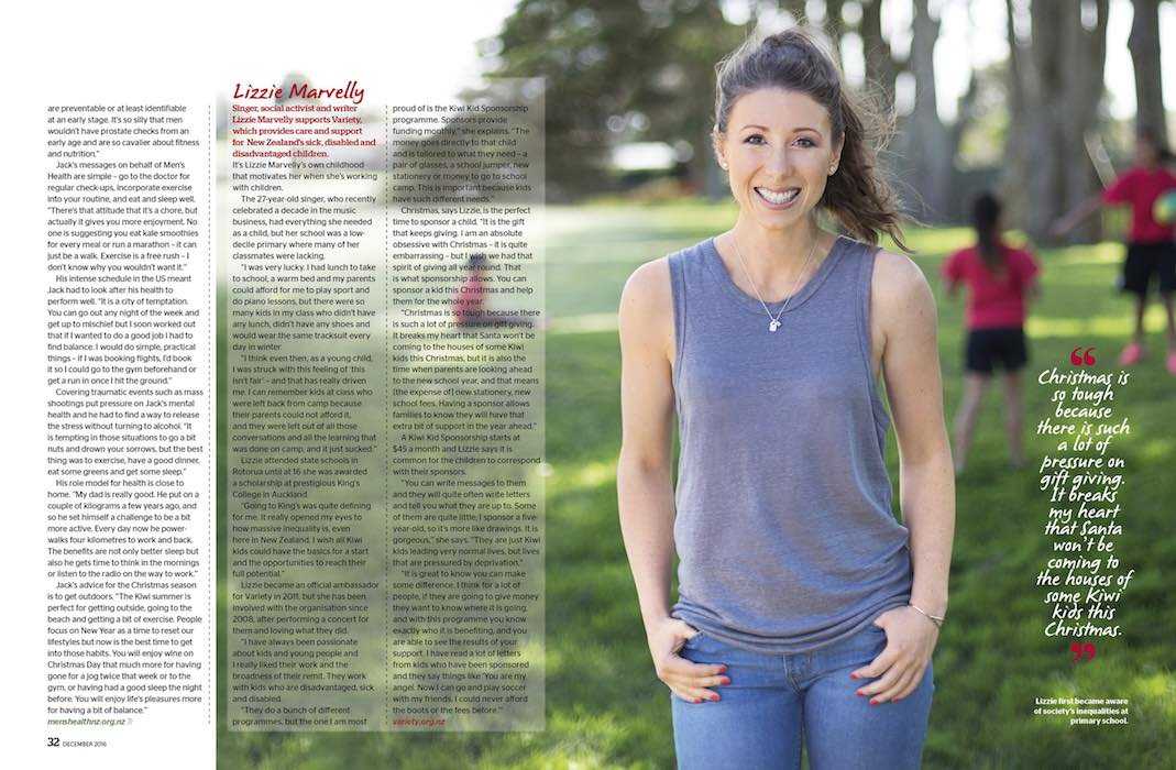 Photo Profile in Editorial - Emily Chalk