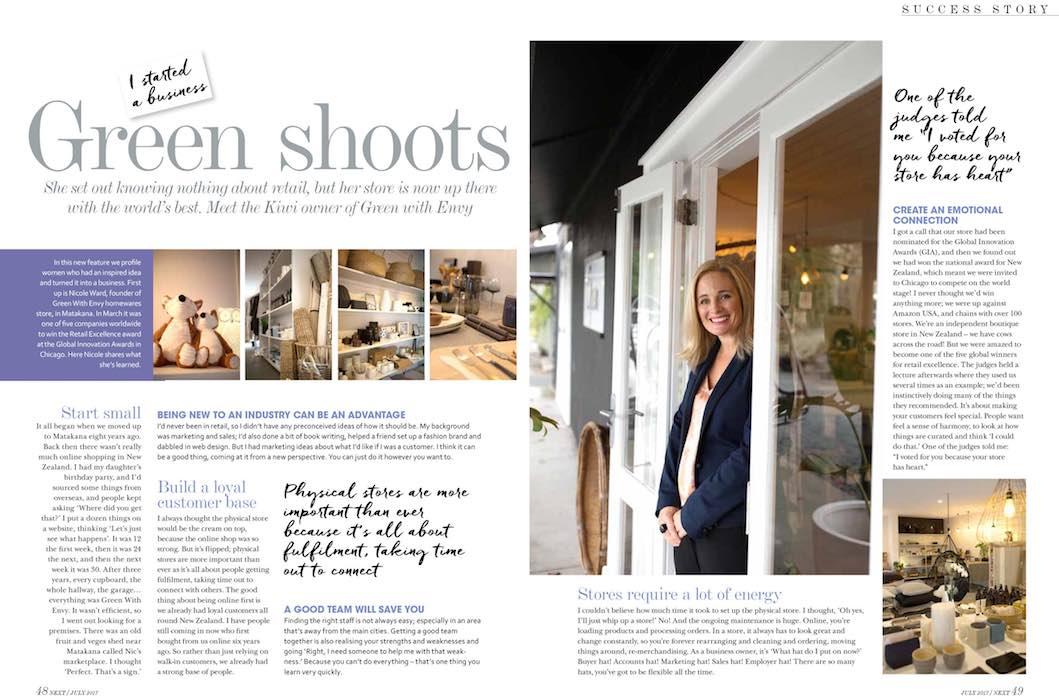 Editorial Photo NEXT magazine - Emily Chalk