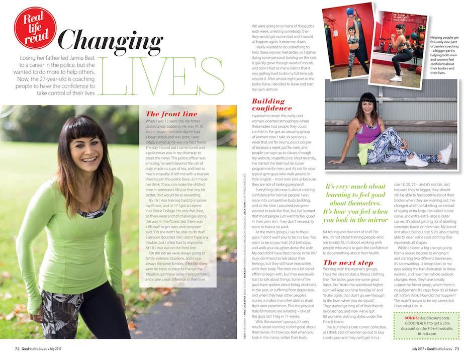 Magazine Editorial Photo - Emily Chalk