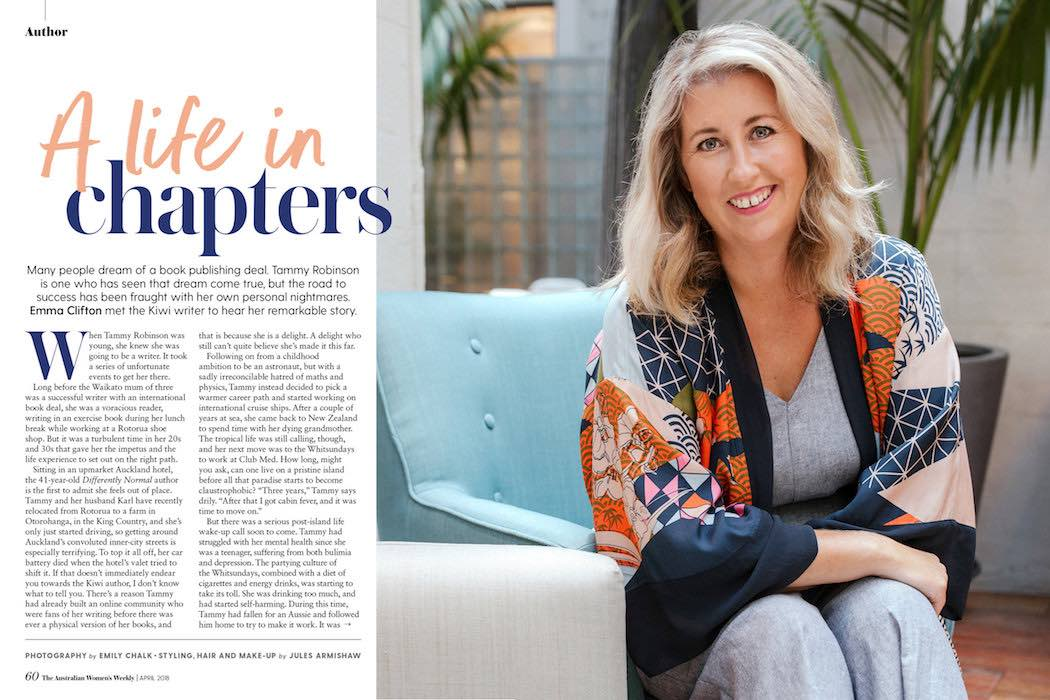 Personal Profile in Magazine - Emily Chalk
