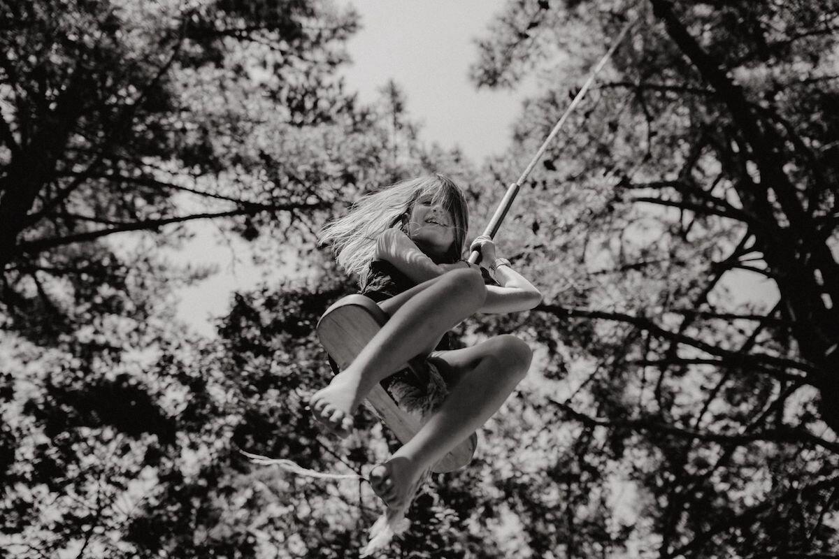 Photograph of girl on swing - Emily Chalk.jpg