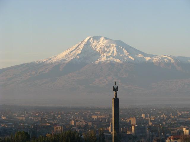 Mt. Ararat, Armenia. October 2008