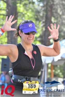 Finisher! Pacific Crest Beastman 72.3 miles, June 23, 2018