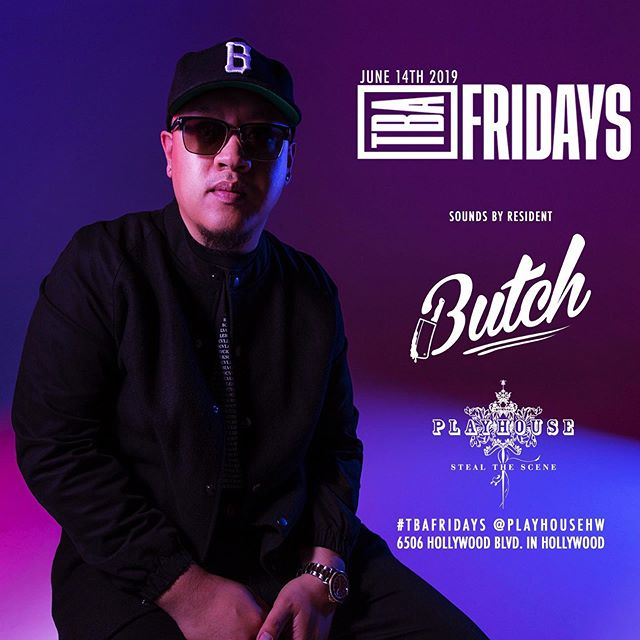 Back at it! Meet me + friends @playhousehw for #TBAFRIDAYS we going crazy tonight! #rollwithbutch