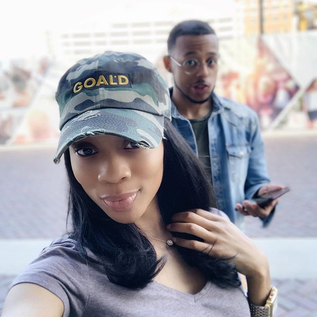 What a freakin YEAR!  We've had @black_and_goald for ONE WHOLE YEAR✨🙌🏽🥂. Our first baby together 😂. From trademarks, to video shoots, to beginning our work in the community... I am FULL.  Cameron, you're the best partner in the world. When I tell y'all, you canNOT go into business with any ole body. And honestly, going into biz with your boo can be reaaaalll risky. So glad we are solid and that this experience has made us an even stronger couple and better people.  Our #GOALDfam is all over the world. We're planting seeds everywhere and it's just the beginning. Thank y'all for supporting us, and in turn, supporting the community.  Lastly, the answer is NOW. Stop waiting to take action. You will never see progress if you never start. I always say baby steps are still steps. Whether you need to register for your LLC, get certified, get your attitude together for better customer service, open your business account, record your first YouTube video - do what you can while you can. A year flies by, and you can be a year/week/day ahead of those who will continue to wait.  This is me telling you to GO and be GOALD. Love y'all.  Hats are now available!🔥