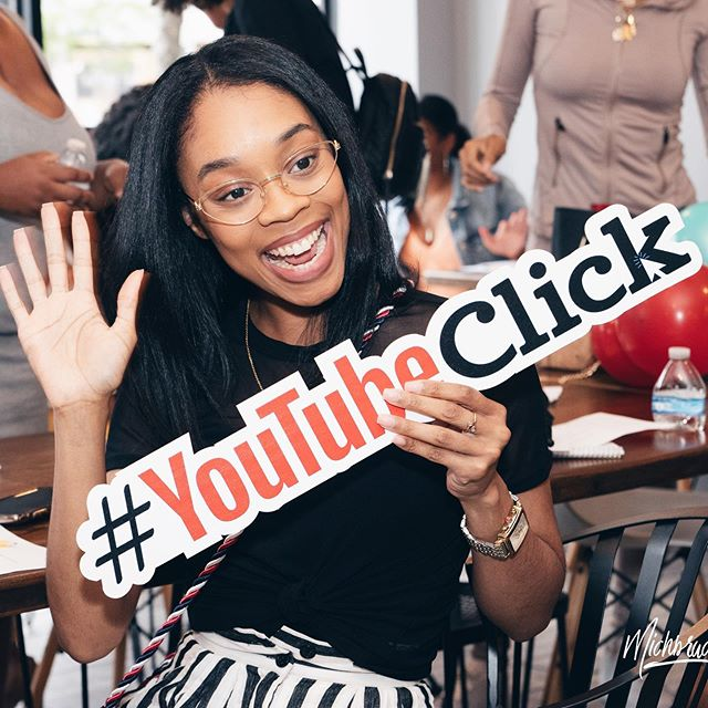 I never really thought Youtube would be the thing that took my business to the next level.  Once I decided to start a channel documenting my entrepreneurship journey and giving digital marketing advice in December 2018, I didn't know WHAT to expect.  For years I contemplated starting a channel. I waited. I made excuses. I was scared I wouldn't get views. But really, I didn't have much to say until now.  Little did I know, all of my experiences on television, as a spokesperson, digital correspondent, etc. have given me everything I need for this. THIS is what it all was for.  THIS is me. My voice. My content. My business.  Starting on YouTube can be daunting and overwhelming. Will people watch? Is it too saturated? What will I talk about? Do I need a new camera? How can I tie it into my business? Will I REALLY make money?  Today, when you tell people you wanna start a YT channel... you might catch some side-eyes.  People really don't believe that it's STILL possible to build a successful channel.  I'm telling you... that's not true.  Does it take a HECK of a lot of work? Yes.  But the consistency (and real techniques... because it's more than consistency that matters 🙃) have generated soooo many leads in my business, thousands of dollars in ad revenue, sponsorships 👀, and many opportunities that may not have been available at this point in my life.  I am grateful for the community I am building. I am grateful for the impact this one decision has had on my business, my life, and the 13,000+ amazing people it is helping.  GO DO IT. It may not be YT for you, but just know... it is not too late.  If you're thinking about starting a YT channel, comment below what is STOPPING you? —  Sn - Cheers to Youtube Click for putting on an incredible event to bring Detroit YouTubers and aspiring Youtubers together! Community and support is so important. xo E 📸: @michbruc