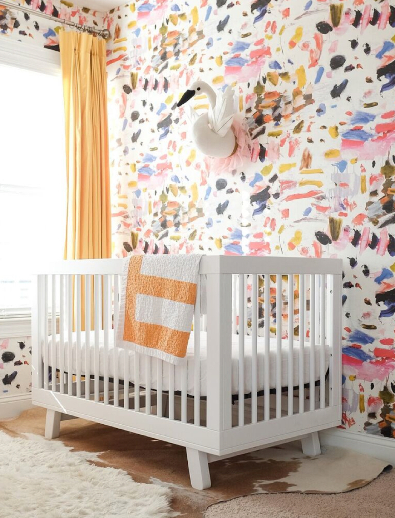 Stacey Blake's Brght and Colorful Nursery