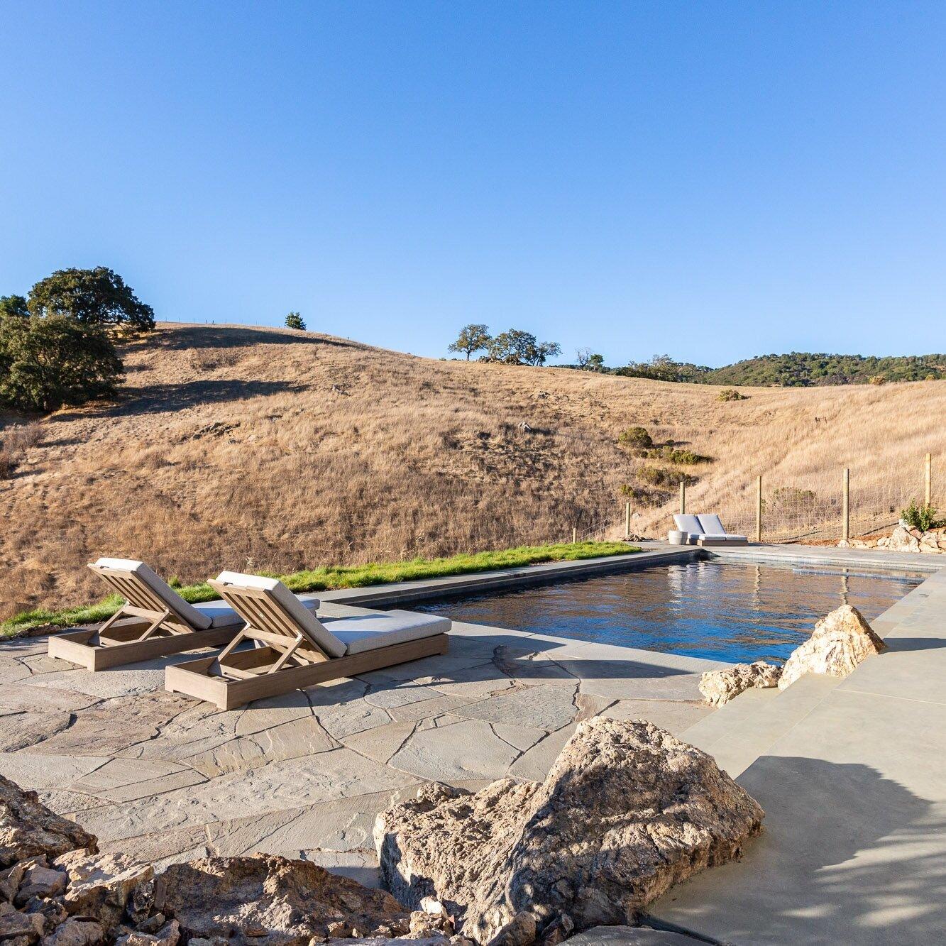 San Anselmo Hillside Pool - a family retreat