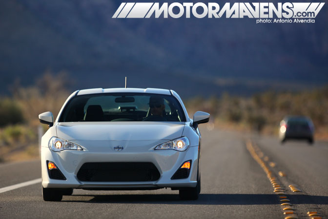 As an automotive media influencer, I've been blessed with the opportunity to find out what it would be like to drive the highly anticipated FR-S on a  winding road, open highway, autocross course, wet skidpad , and perhaps the most enjoyable – a  high speed handling test  at one of Spring Mountain Motorsports Ranch's racetracks.