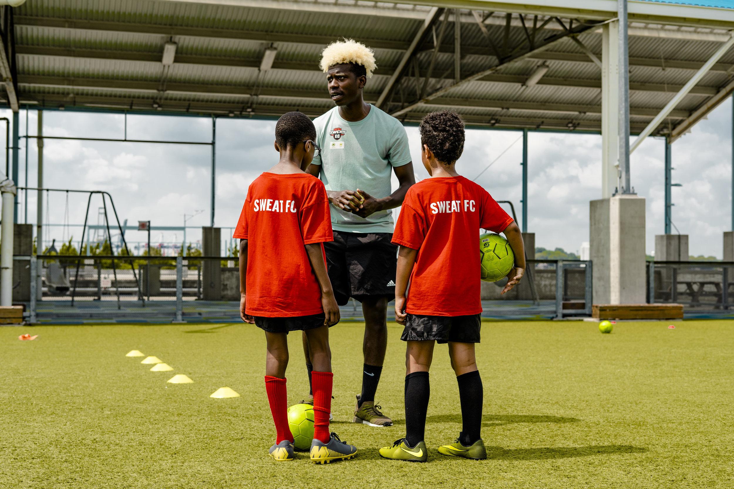 Sweat F.C: Soccer School