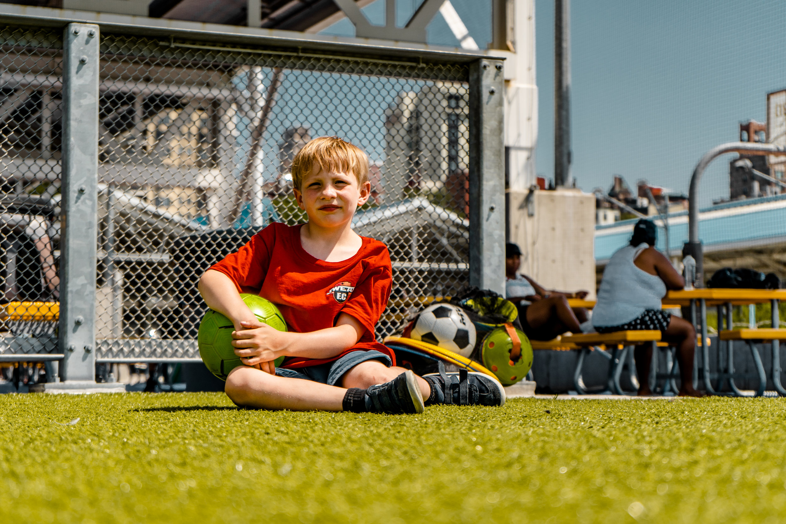CADMAN PLAZA AGES 2-4 - Our Little Kickers soccer is for kids ages 2-4 years old.