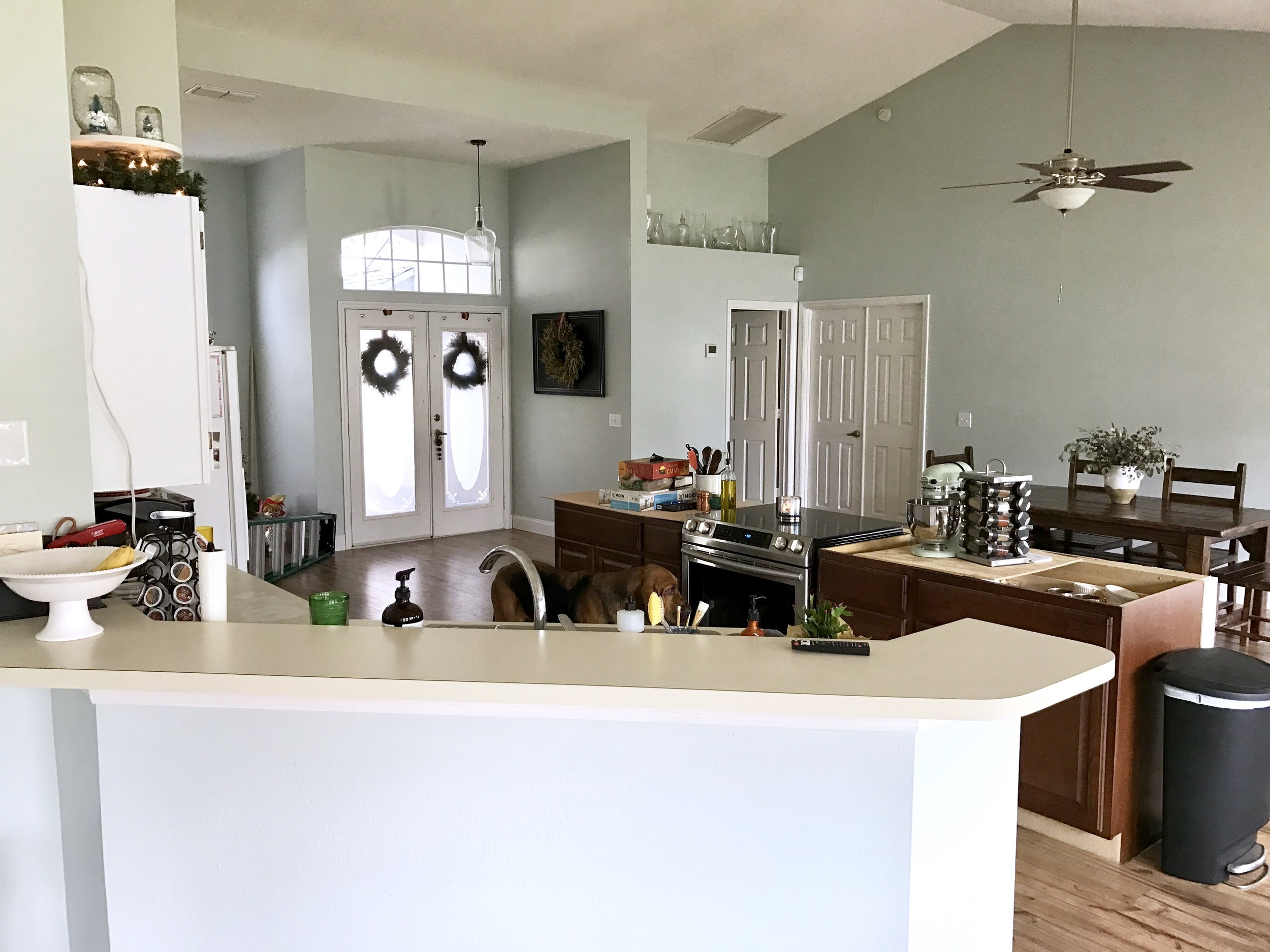 Creating an Open Floor Plan: Kitchen Renovation Before and After  |  This Hiatus Blog