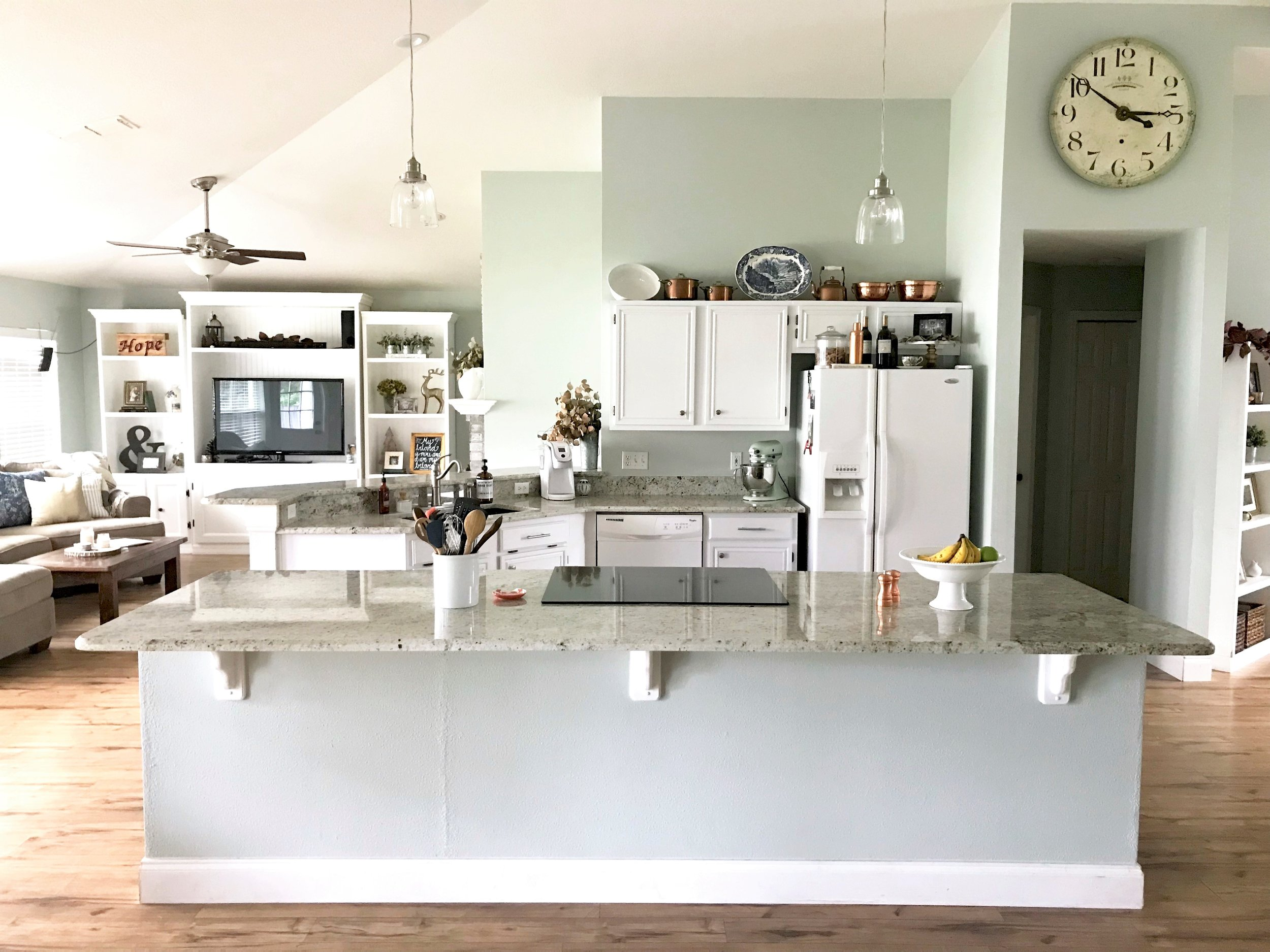 Creating an Open Floor Plan: Kitchen Reno Before & After  |  This Hiatus Blog