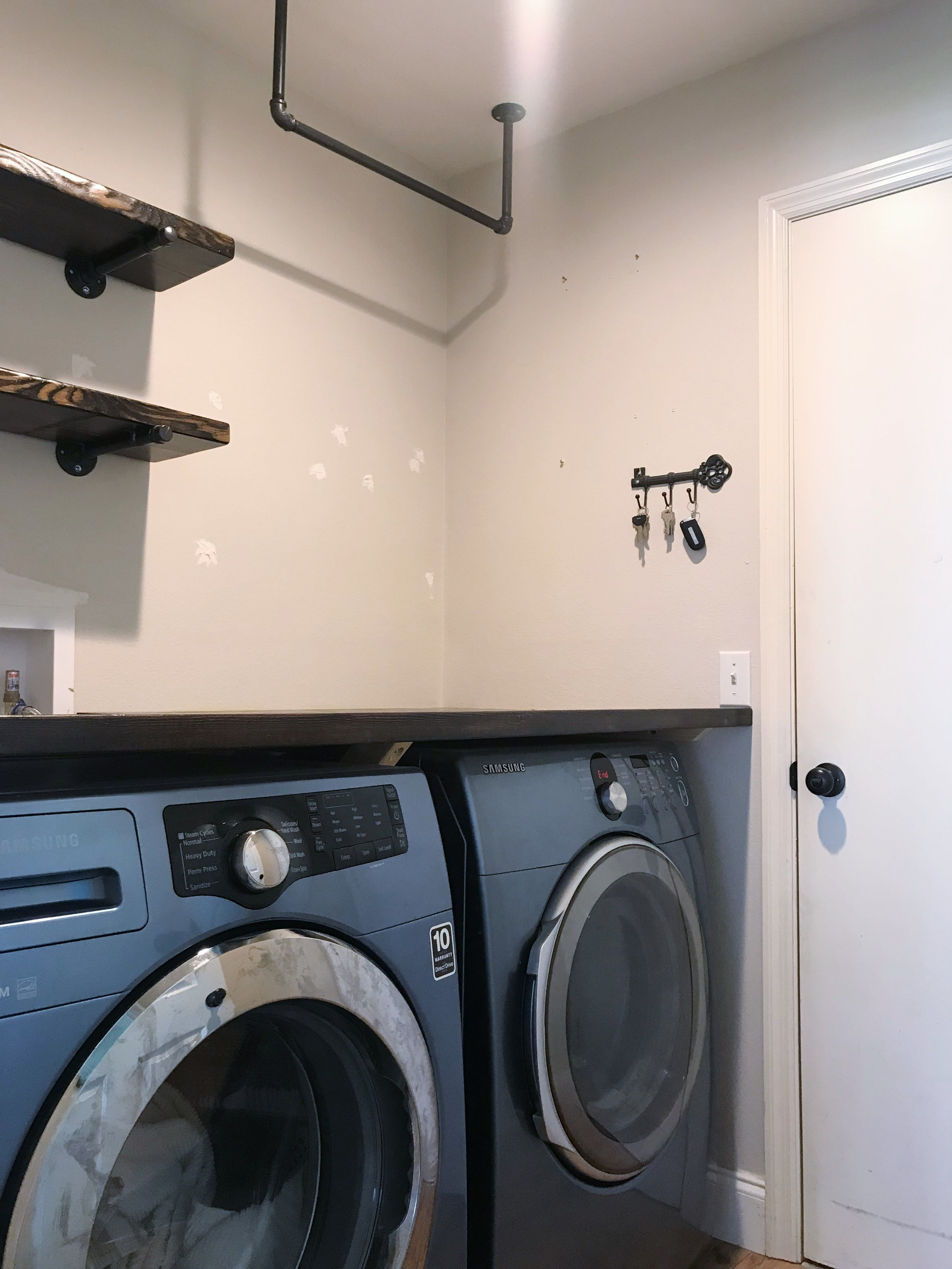 Laundry Room Makeover: Before and After // This Hiatus Blog