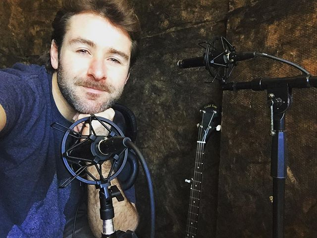 Banjo recorded succesfully.  #happycamper #banjo #recordingstudio #singersongwriter #indiefolk #folkgood #musician #recording #album #passion #love #music #lifestyle #livefolk #selfie #mics #art #create #success