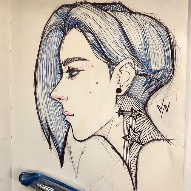 #meetingdoodle #meetingdoodles #girlart #art #artist #artoftheday #doodle #sketch #sketchoftheday #dailysketch #sketchbook #inksketch #inksketches #illustration #drawing #draw #dailyart #penandink #pen #ink #ballpoint #slicci #instaart #illustration #moleskine
