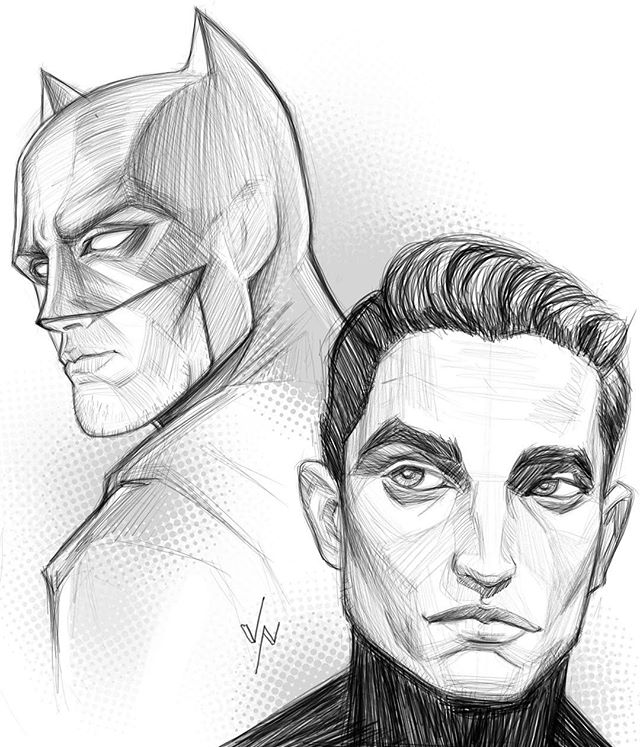 I think #RobertPattinson is going to make a great Batman and Bruce Wayne.  I am not going to complain about another version of Batman 🤷🏻‍♂️. #art #artist #artoftheday #doodle #sketch #sketchoftheday #dailysketch #sketchbook #drawing #draw #dailyart #painting #digitalpainting #digitalart #ipad #ipadpainting #ipadpro #procreate #procreateapp #batman #dc #dccomics #dccomicsart #comics #comicart #warnerbros #geekout #comicmovies #justenjoyit